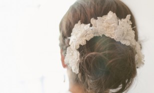 French Alencon Lace Hair Pin Set