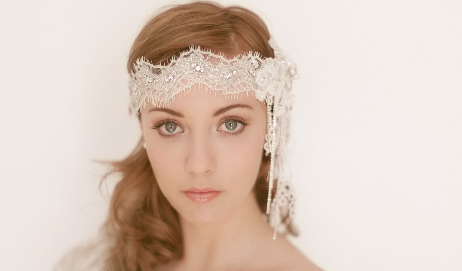Deco soft lace headband