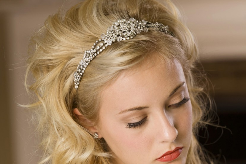 Vintage Inspired Rhinestone Tiara