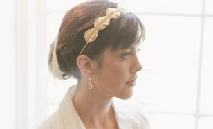 Laurel Leaf Bridal Crown