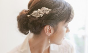 Laurel Leaf Hair Comb