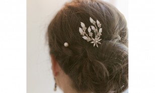 Dash of Brilliance Fancy Bridal Hair Pin