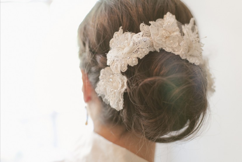 ALENCON LACE HAIR PINS