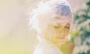 VINTAGE INSPIRED LACE BRIDAL CAP