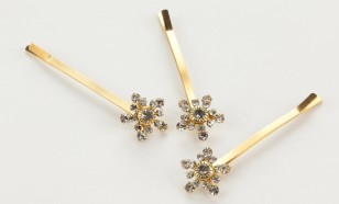 Spot of Sparkle Rhinestone Bobby Pins