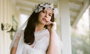 GOSSAMER BUTTERFLY BRIDAL FLORAL CROWN