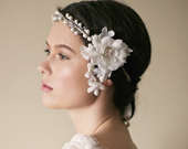 HARRIET ROARING TWENTIES BRIDAL HEADBAND