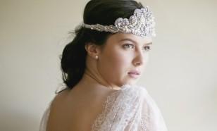 Beatrice 1920s beaded headband