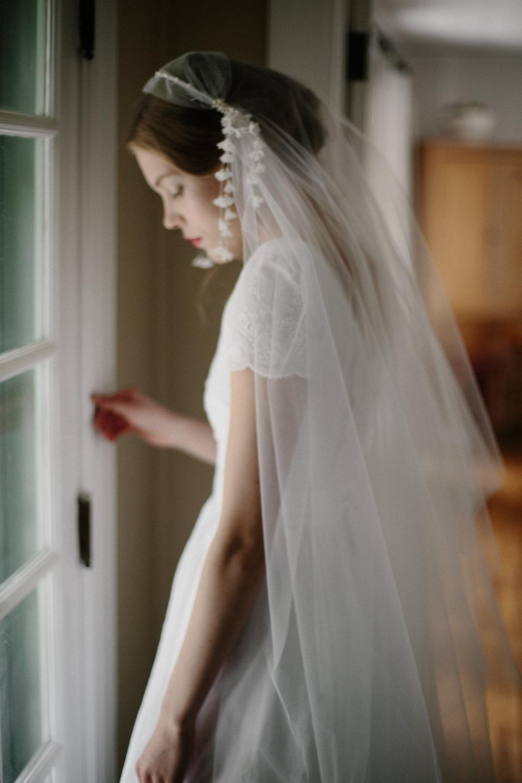Lily Bridal Cap