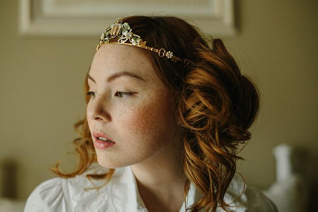 Good Luck wedding crown