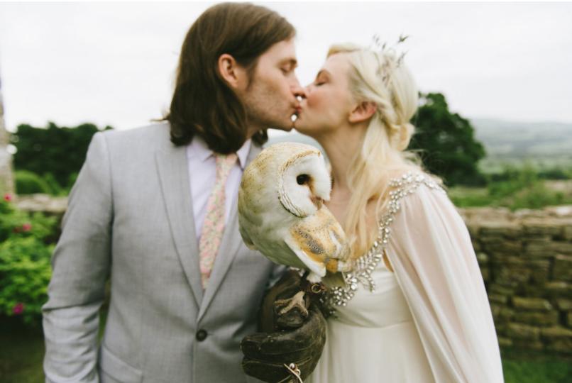 british castle wedding