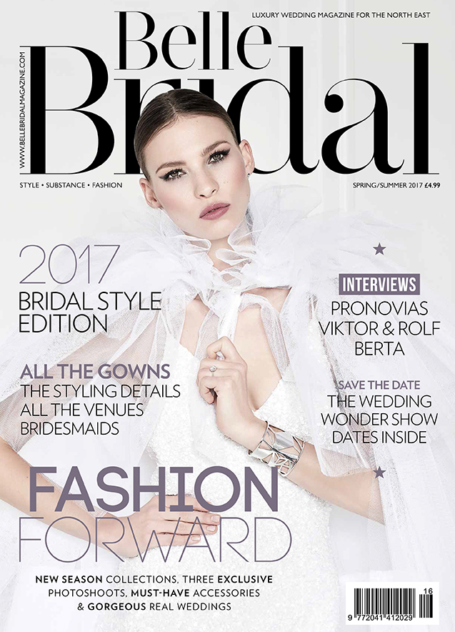 Belle bridal Magazine spring/summer 2017
