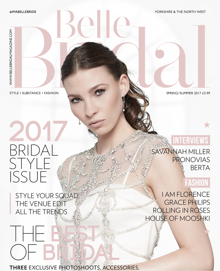 Belle Bridal 2017 Spring/Summer issue